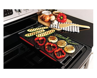 Crofton Cast Iron Reversible Griddle/Grill View 4