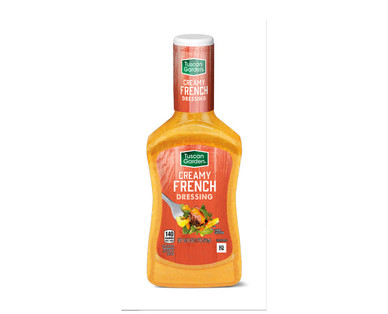 Tuscan Garden Creamy French Dressing