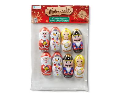 Winternacht Solid Chocolates Christmas Figures