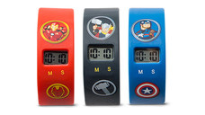 Licensed Children's Blind Bag Character LCD Watch