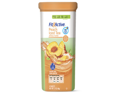 Fit and Active Peach Iced Tea Drink Mix