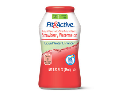 Fit & Active Strawberry Watermelon Liquid Water Enhancer