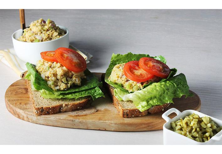 Tuna-Less Sandwich