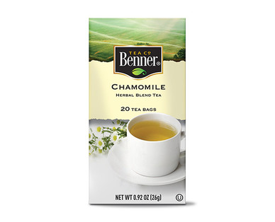 Benner Chamomile Tea Bags