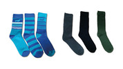 Adventuridge Ladies' or Men's 3 Pair Outdoor Socks