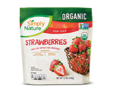 Simply Nature Frozen Strawberries