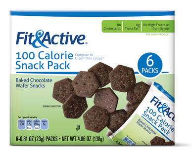 Fit and Active 100 Calorie Chocolate Snack Pack