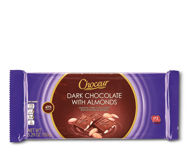 Choceur Dark Chocolate with Almonds Bar