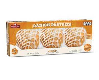 Baker's Treat Cheese Danish Pastries