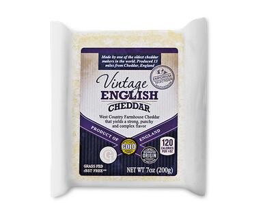 Emporium Selection Vintage English Cheddar Cheese