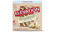 Elevation by Millville White Chocolate Macadamia Nut Energy Bars. View Details.