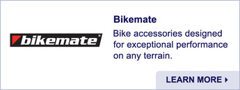 Bikemate. Bike Accessories. Learn More.