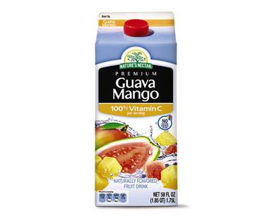 Nature's Nectar Guava Mango Juice