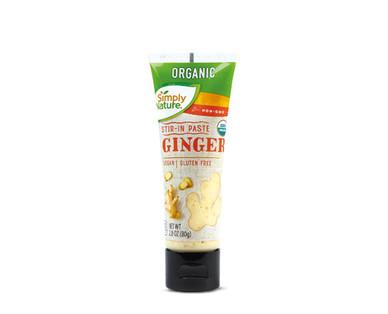 Simply Nature Organic Stir in Paste Ginger