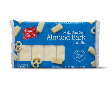 Baker's Corner Vanilla Almond Bark