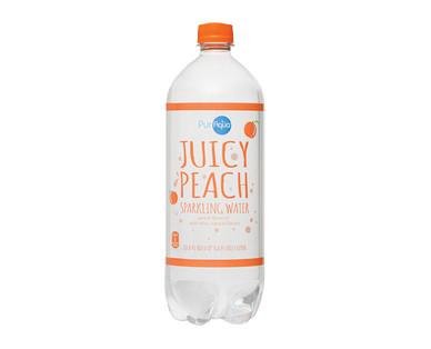 PurAqua Juicy Peach Sparkling Water