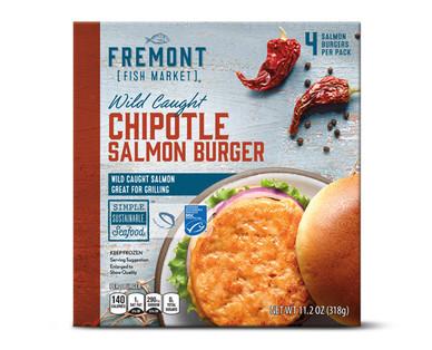 Fremont Fish Market Chipotle Salmon Burgers