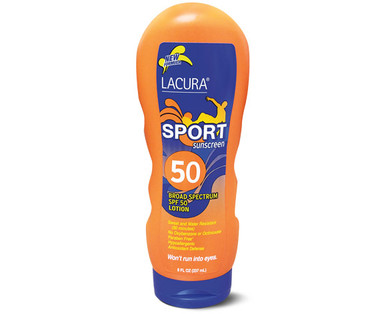 Lacura Sport SPF 50 Sunscreen Lotion