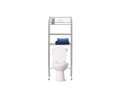 SOHL Furniture 3-Shelf Bathroom Space Saver View 1