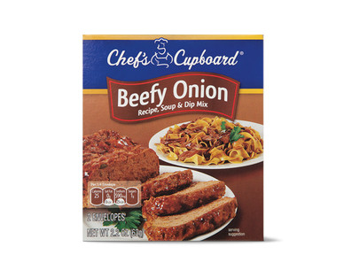 Chef's Cupboard Beefy Onion Recipe, Soup & Dip Mix View 1