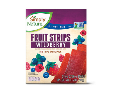Simply Nature Wildberry Fruit Strips