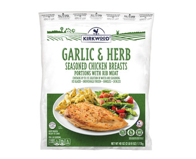 Kirkwood Garlic & Herb Chicken Breasts