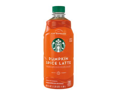 Starbucks Holiday Flavored Iced Coffee