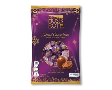 Moser Roth Milk Chocolate Truffle Grand Chocolades