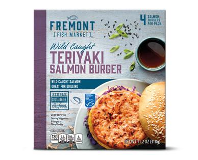 Fremont Fish Market Teriyaki Salmon Burgers