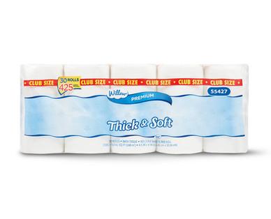Willow 30 Mega Roll Bath Tissue