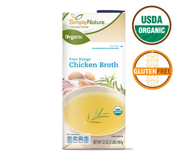 SimplyNature Organic Chicken Broth