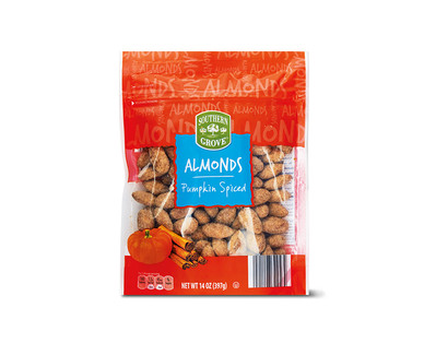 Southern Grove Snickerdoodle or Pumpkin Spiced Almonds View 1
