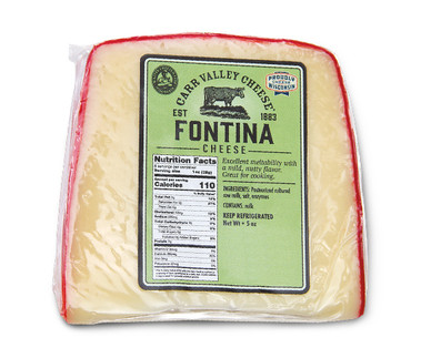 Carr Valley Fontina Cheese