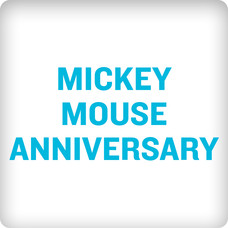 Mickey Mouse Anniversary