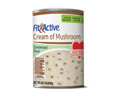 Fit and Active Cream of Mushroom Condensed Soup