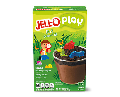 JELL-O Play Dirt Dessert Cup Kit