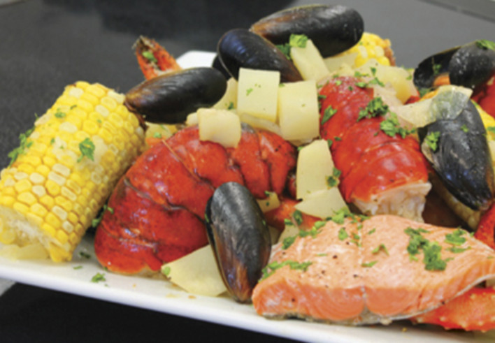New England Style Seafood Boil