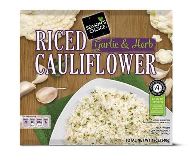Season's Choice Garlic Riced Cauliflower