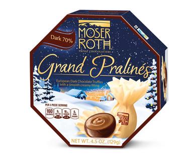 Moser Roth Dark Chocolate Grand Pralines