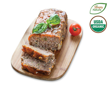 Fresh Family Pack Organic Grass-Fed 85/15 Ground Beef View 1