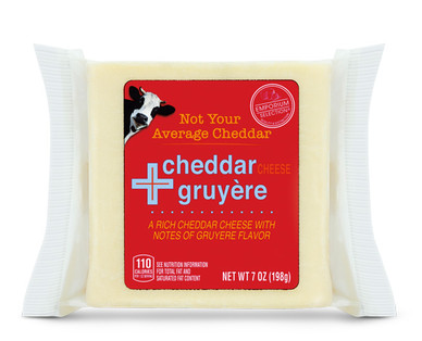 Emporium Selection Gruyere Cheddar Cheese