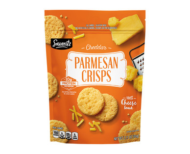 Savoritz Cheddar Parmesan Crisps
