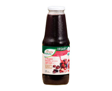 Simply Nature Organic 100% Juice 7 Super Fruits