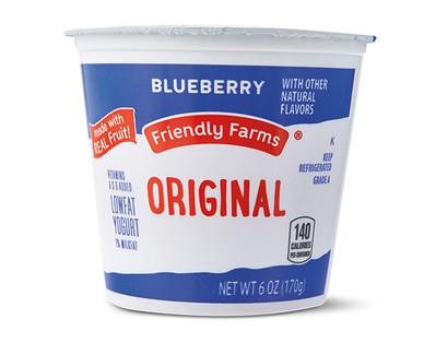 Friendly Farms Lowfat Blueberry Yogurt