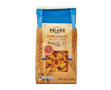 Priano Authentic Italian Bronze Cut Conchiglie Pasta