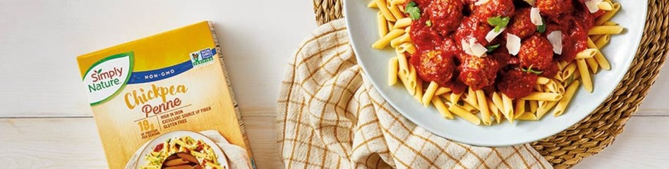 Chickpea Penne