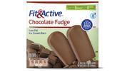 Fit & Active® Chocolate Fudge Ice Cream Bars
