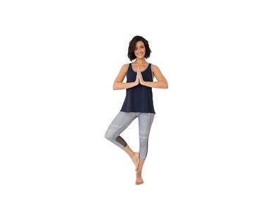 Crane Ladies Three Quarter Legging or Capri Yoga Pant View 4