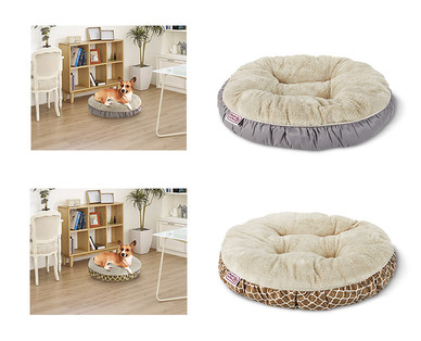 Heart to Tail Round or Rectangle Small Pet Bed View 2