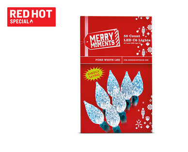 Merry Moments 50-Count LED Christmas Lights View 2